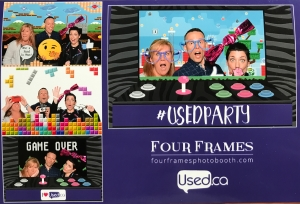 Photo booth at the conference